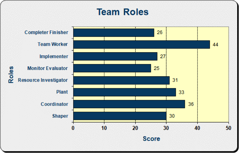 Team Role Chart